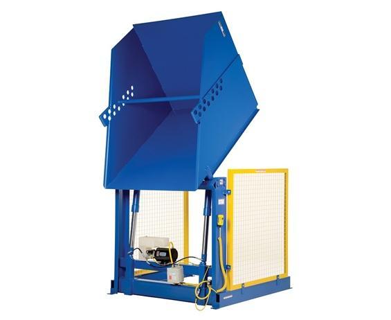 HYDRAULIC BASKET/BOX DUMPER